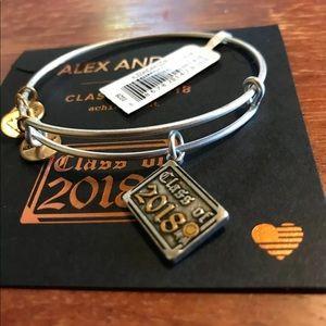 Alex and Ani Class of 2018 NWT 2tone Bracelet